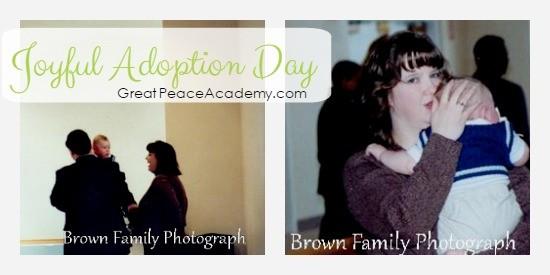 joyful adoption day