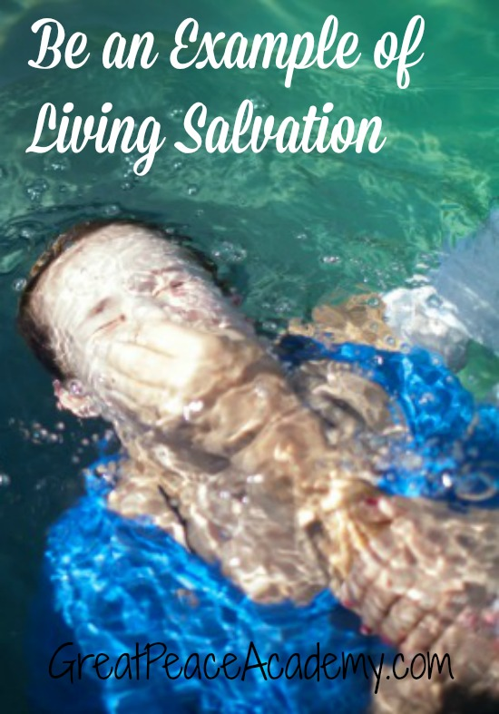 an Example of Living Salvation