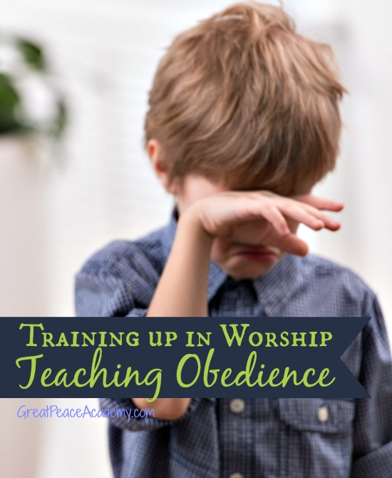 Training up in worship with discipline to teach obedience. Great Peace Academy