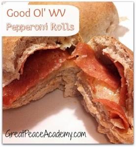 Good Ol' WV Pepperoni Rolls