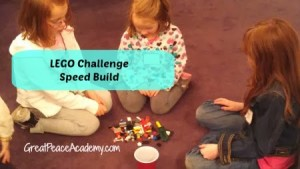 Speed Build with LEGO Challenge