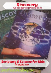 Scripture and Science Magazine for Kids