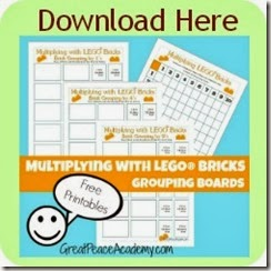 Download Multiplying with LEGO Worksheets