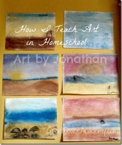 Art in Homeschool
