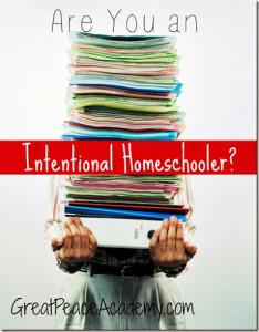 Intentional Homeschooler