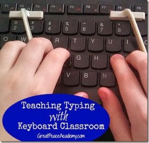 Teaching Typing with Keyboard Classroom