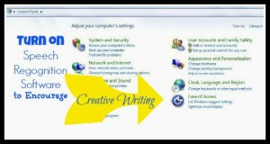 Voice Recognition Software for Teaching Creative Writing