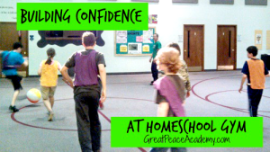 Building Confidence at The Homeschool Gym