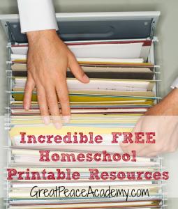 Free-Homeschool-Printables1