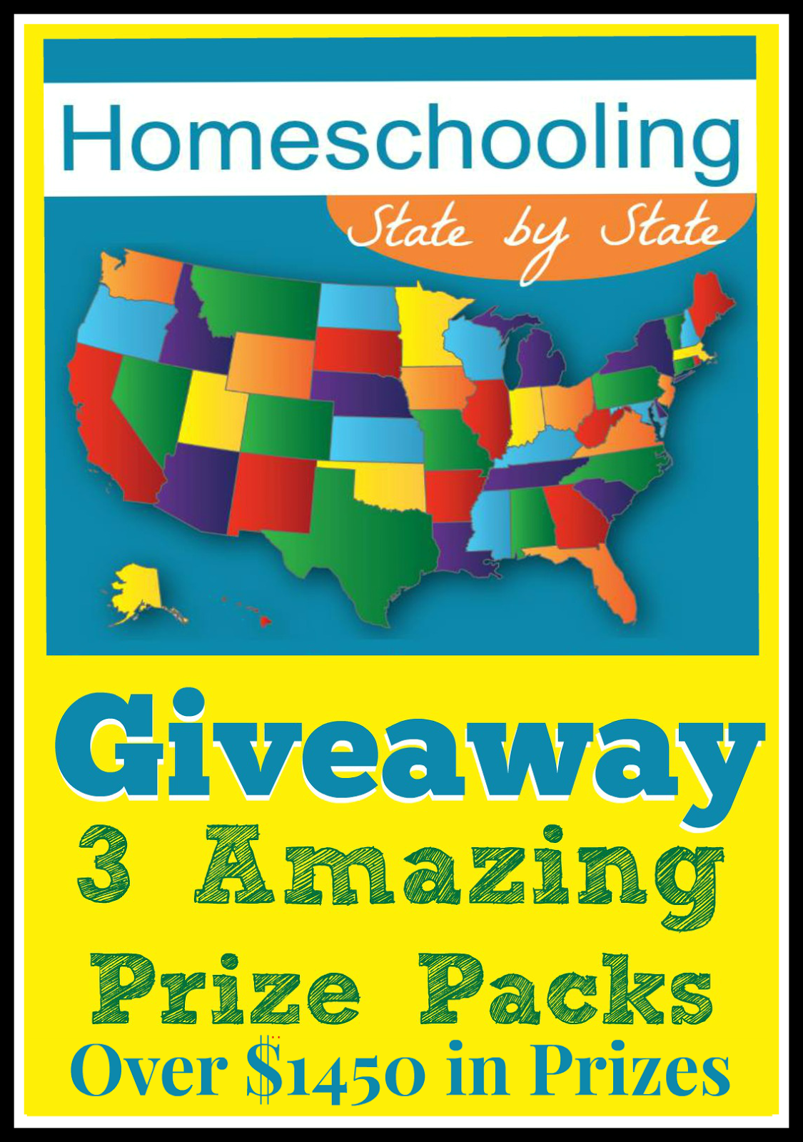 Homeschooling State by State Giveaway