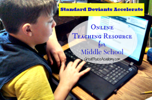Online teaching resource for middle school or high school with Standard Deviants Accelerate, Try Free for 6 months by Nov. 15, 2014. See how at Great Peace Academy