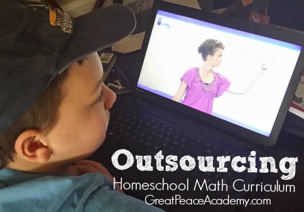 Outsourcing Homeschool Math Curriculum using Unlock Math an online interactive learning environment. | Great Peace Academy