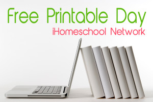 Free Printable Day with the iHomeschool Network