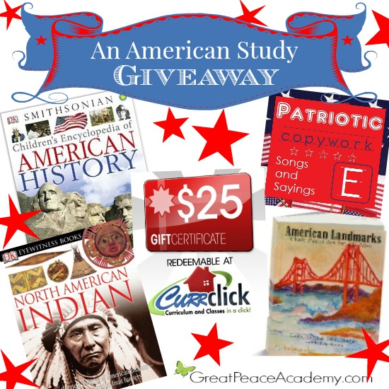 An Americamn Study Giveaway | Great Peace Academy