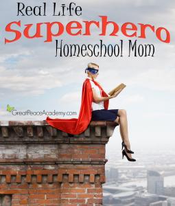Real Life Superhero Homeschool Mom, Meet Fee.   Great Peace Academy