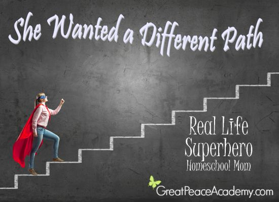 Real Life Superhero Homeschool Mom, She wanted a Different Path for Her Children | Great Peace Academy