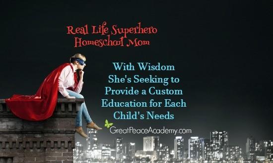 Real Life Superhero Homeschool Mom She's Seeking to Provide a Custom Education for Each Child   Great Peace Academy