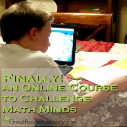 Finally! an Online Course for Math Minded Students. | Great Peace Academy #ihsnet