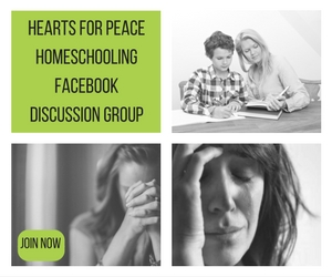 Hearts for Peace Homeschooling fb Discussion Group