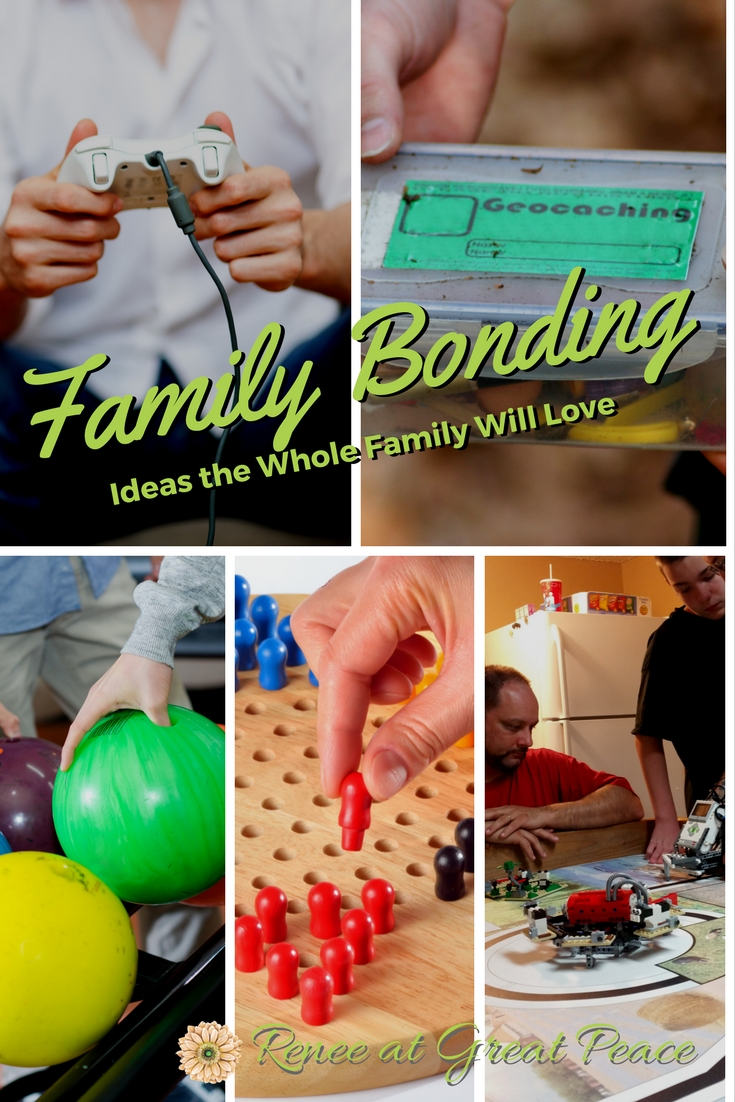 Family Bonding Time the Whole Family will Love | Renée at Great Peace #ihsnet